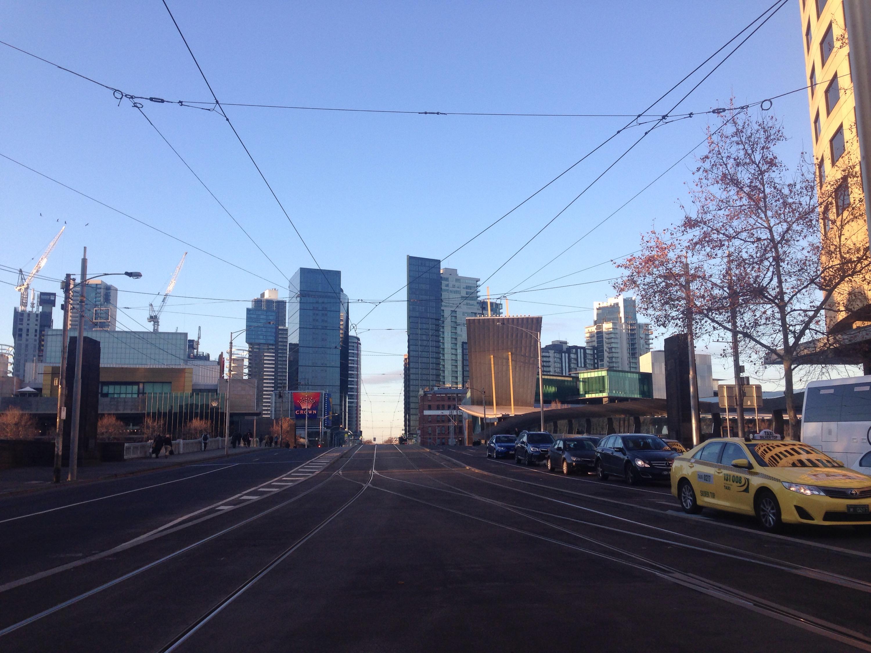 A Melbourne morning